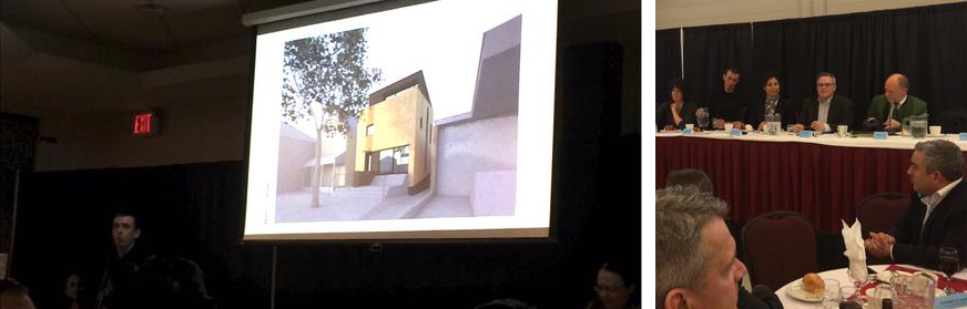 slide from Gunter Lang's Passivhaus presentation