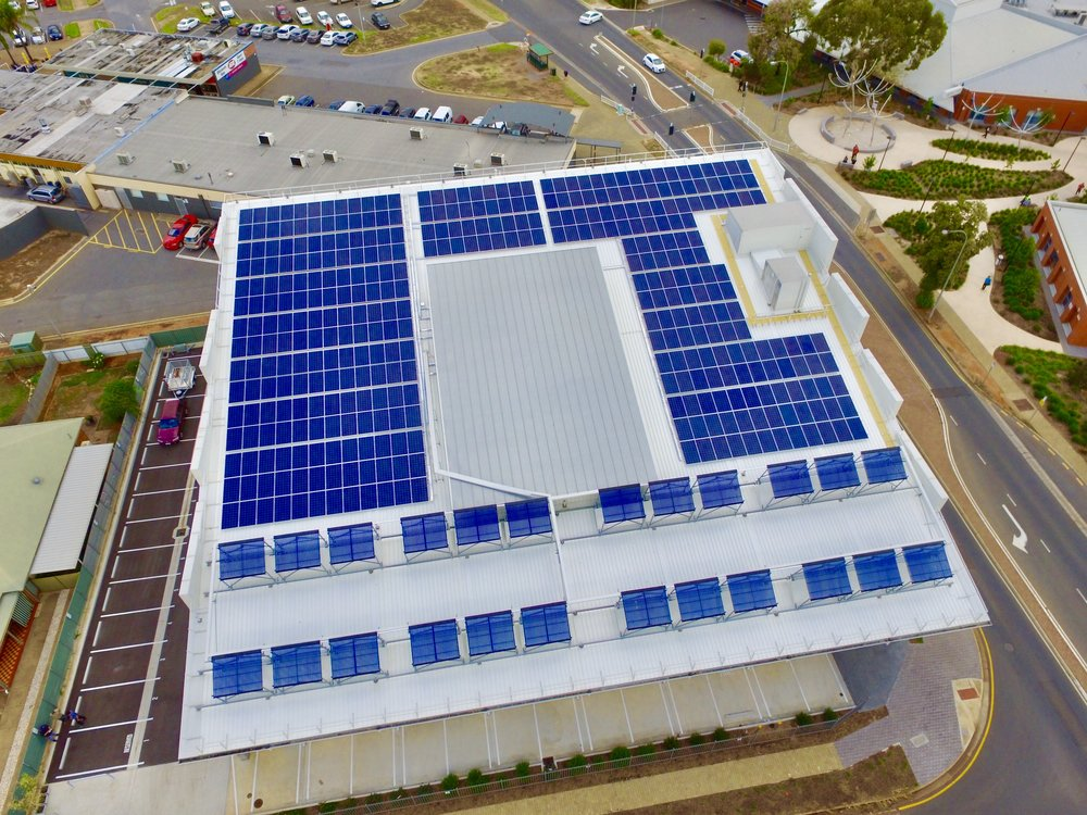 FluidSolar Off Grid Office Complex - 100kW PV
