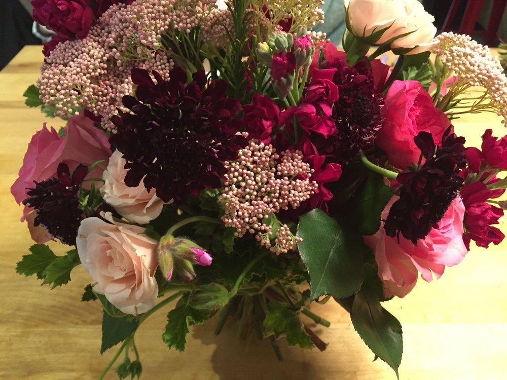 Garden Style Hand Tied Bouquet Centerport Long Island