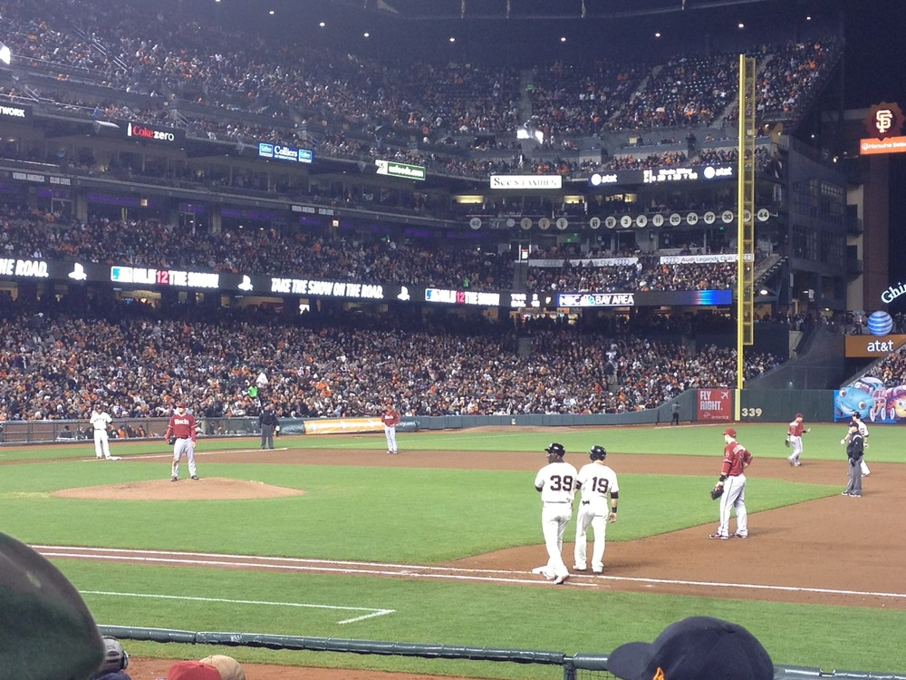 SF Giants vs D-Backs 9/26