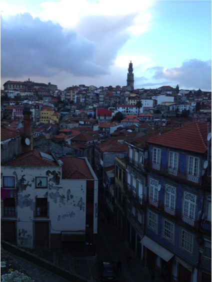 A view of Oporto