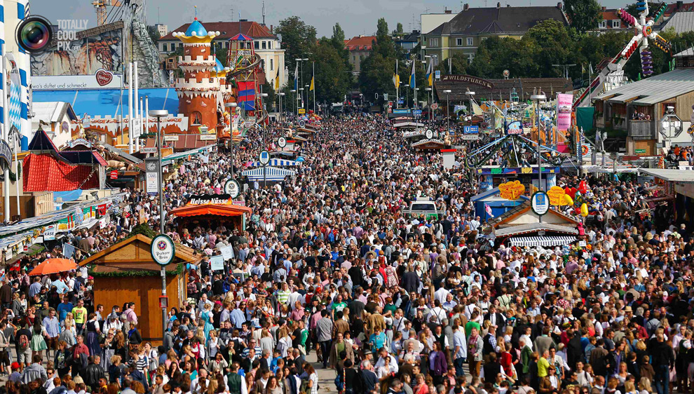 The Annual Oktoberfest by the Bay in San Francisco