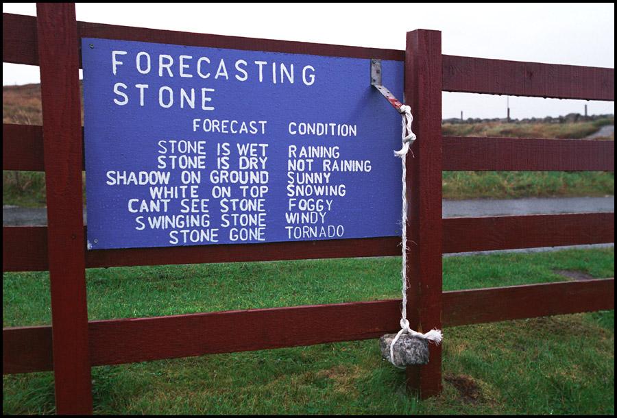 Photo Credit: http://iwillbeyouraccident.blogspot.com/2010/03/garys-forecasting-stone.html