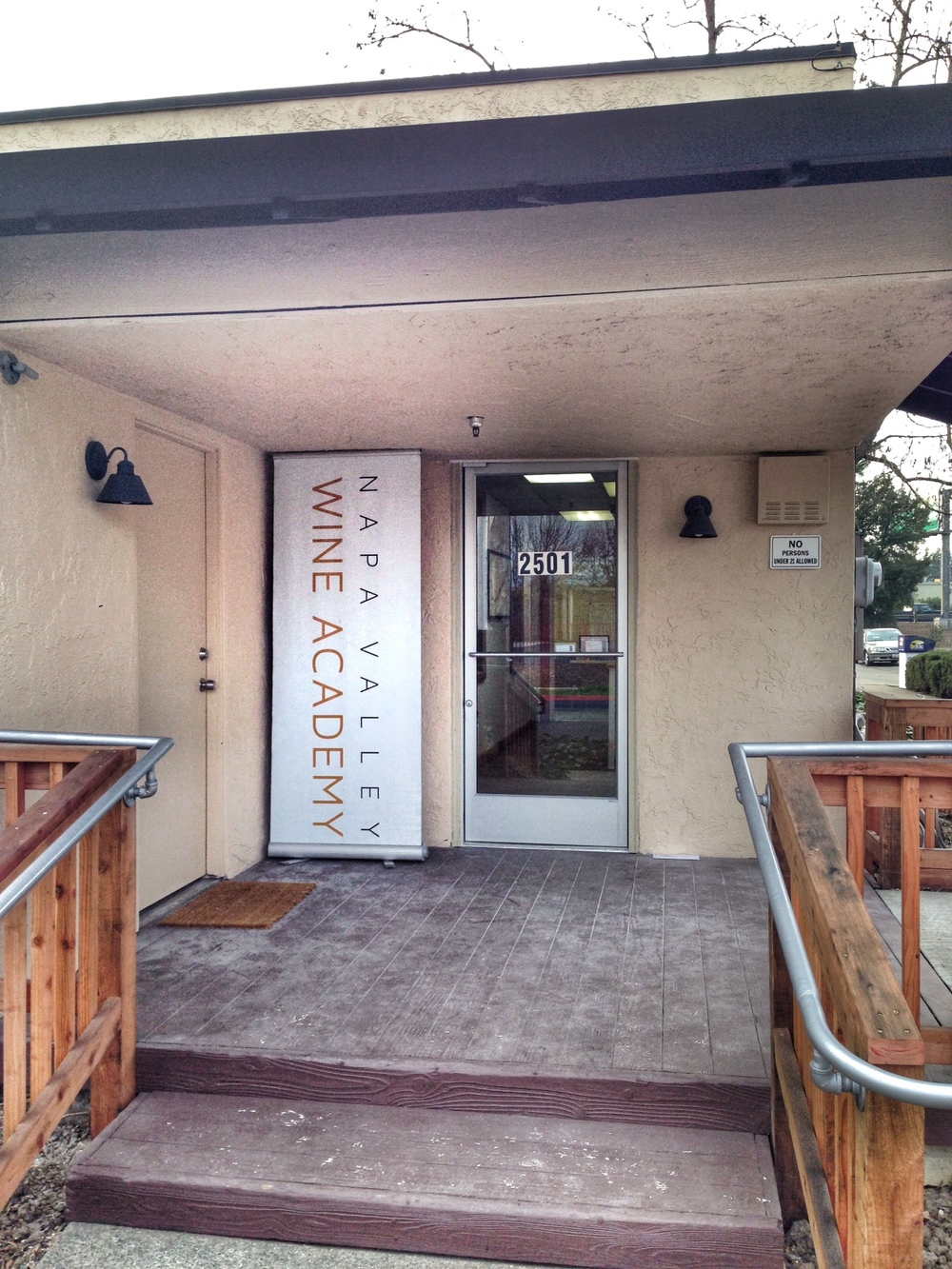 The NVWA is located at 2501 Oak Street in Napa, CA.