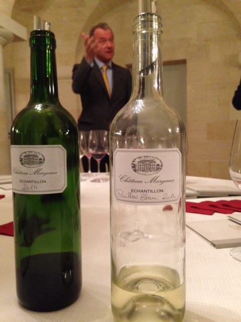 Chateau Margaux Wine Director Paul Pontallier discusses the vintage