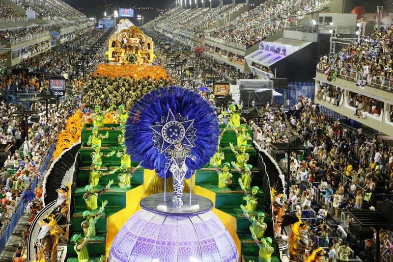 Massive 2015 Sambodromo in Rio de Janeiro