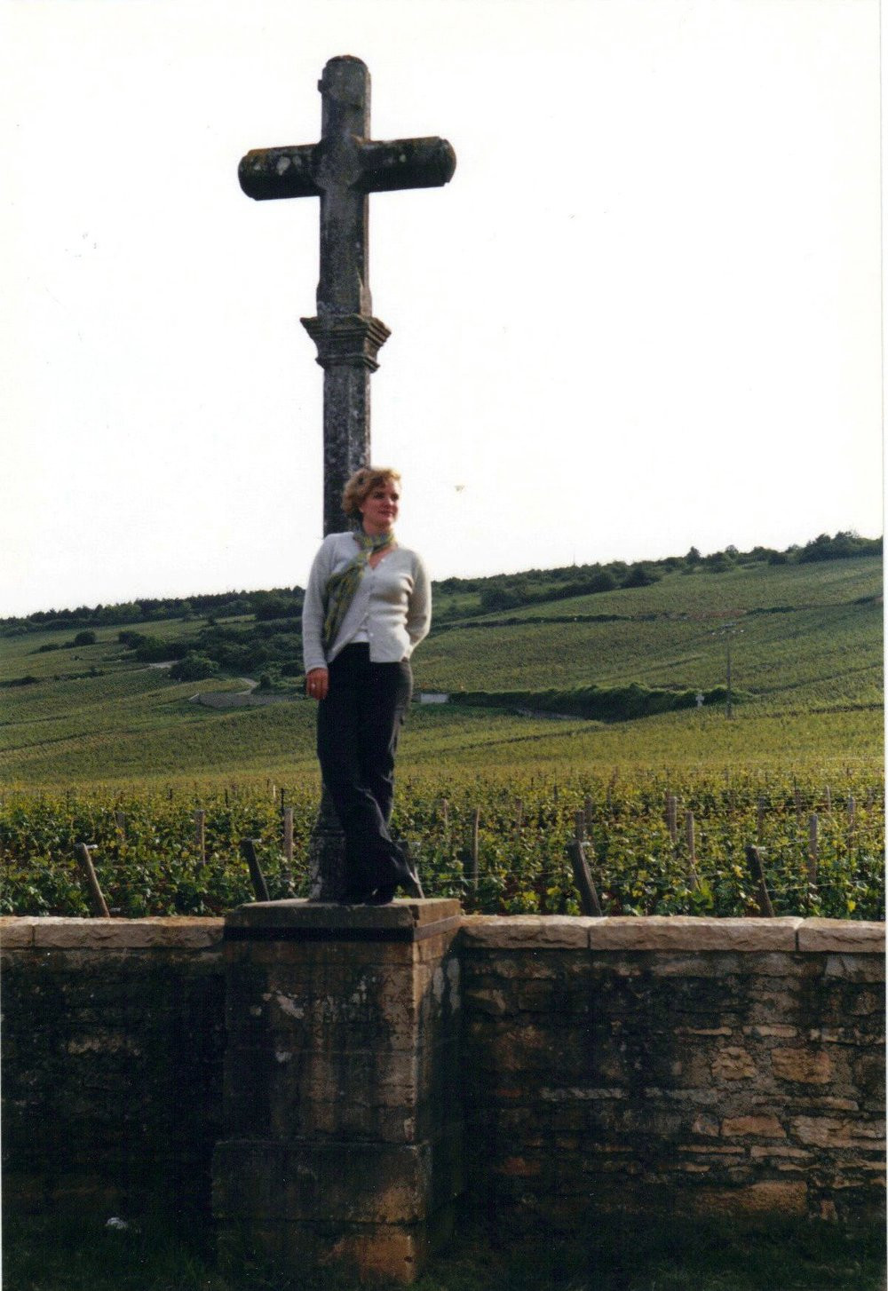 Kimberly Charles on a previous trip to the stunning region of Burgundy.