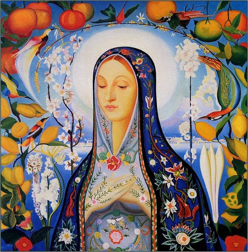 Beer pioneer Hildegard von Bingen, considered a Patron Saint of Beer. Photo courtesy of