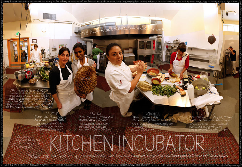 La Cocina food entrepreneurs. Photo courtesy of vaibmu.com.