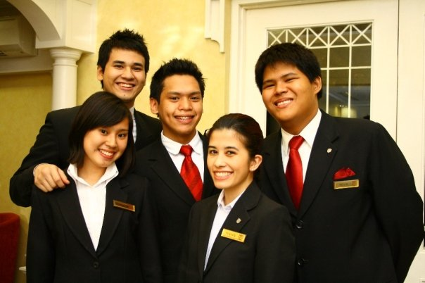 Back in 2010 at Enderun Colleges as aspirational hoteliers.