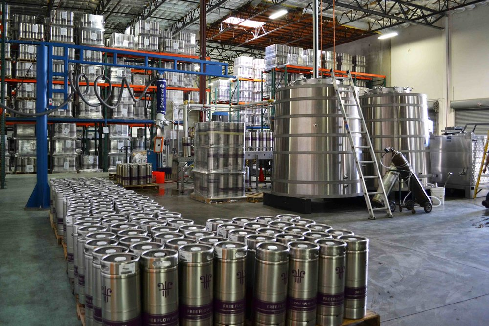 Free Flow Wines facility. Photo courtesy of Free Flow Wines.