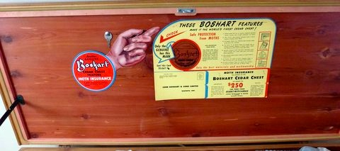 j boshart and sons 1940u0027s collectable cedar chest