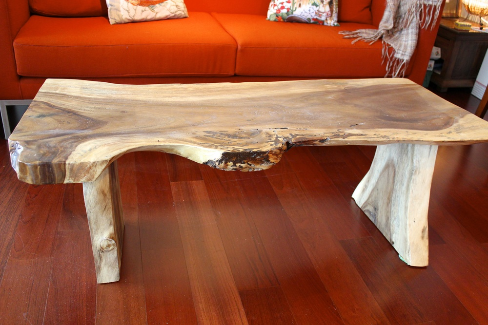 Indonesian Suar Wood Coffee Table