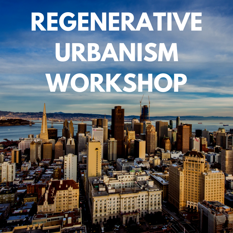 In 2017, the Planning Department of San Francisco completed a report on regenerative urbanism, and potential applications to improve the Central SoMa district of the city. After the draft report was completed, Nutter Consulting designed and facilitated a workshop with senior city staff members to increase their understanding of regenerative urbanism in relation to urban sustainability. City staff members engaged in evaluating San Francisco's current sustainability programs, and proposed ideal outcomes to address the current areas which need more attention and focus. Working in breakout groups, they identified key questions on the SoMa proposal, potential challenges, and insights into policy or finance options. The results of this workshop were featured as an appendix to the final internal report.