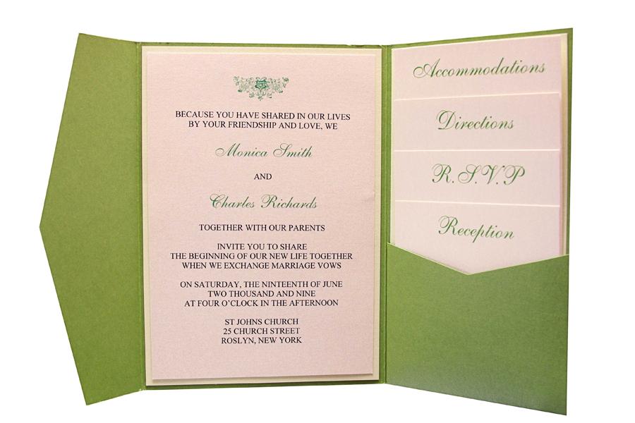 Pocketfolds Wedding Invitations - Home Design Ideas