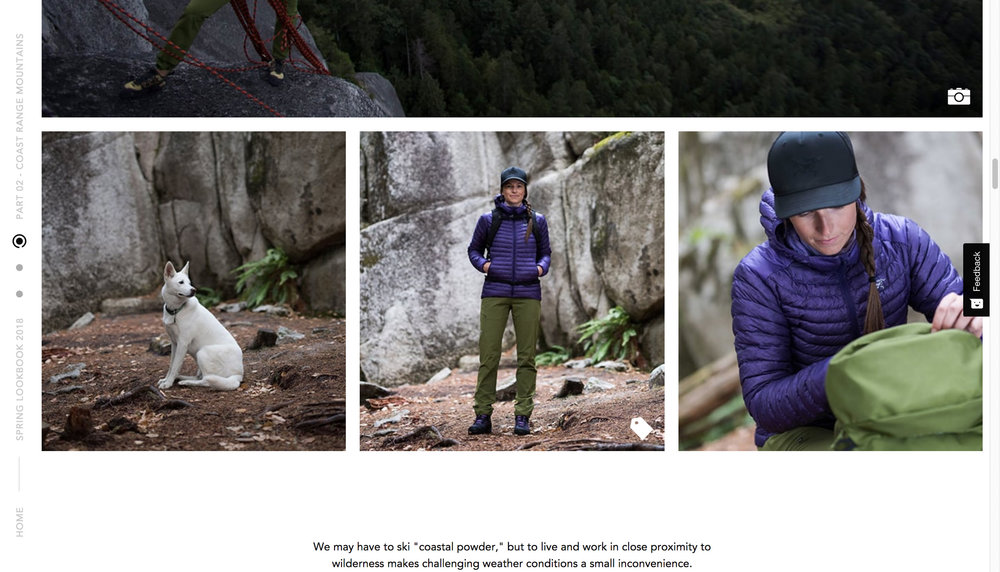 Arc'teryx 2018 Campaign Imagery
