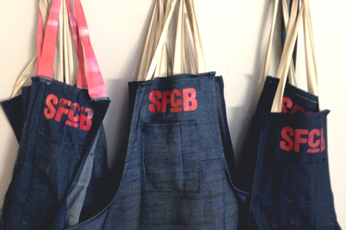 aprons | SF center for the book | good girl goes rad