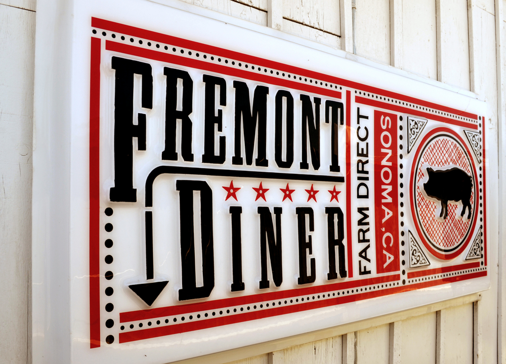 The Freemont Diner Sonoma California
