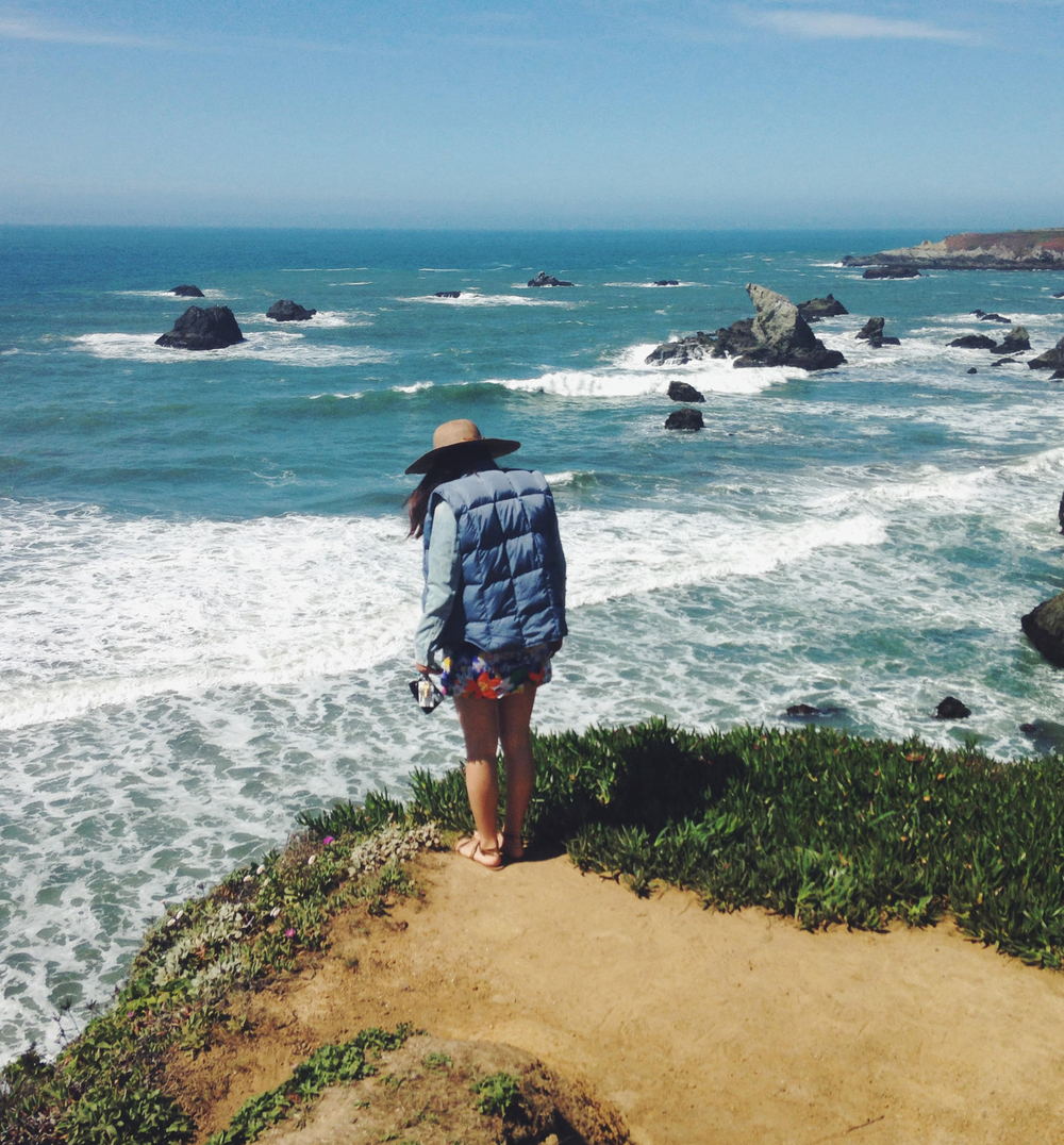 Sonoma Coast Pacific Ocean Overlook | Girl Goes Rad