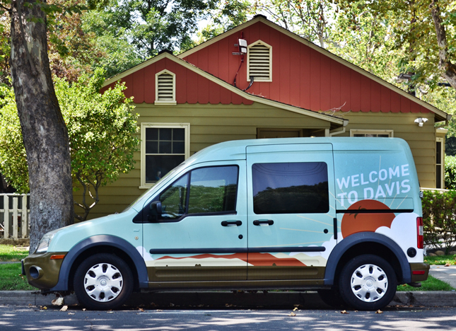 Welcome to Davis Coop Welcome Van