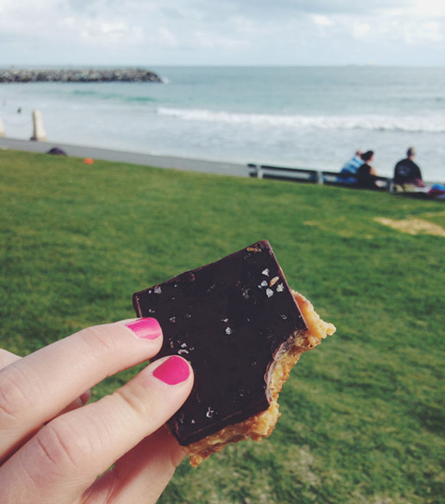 Best Caramel Slice Perth Western Australia Cottesloe
