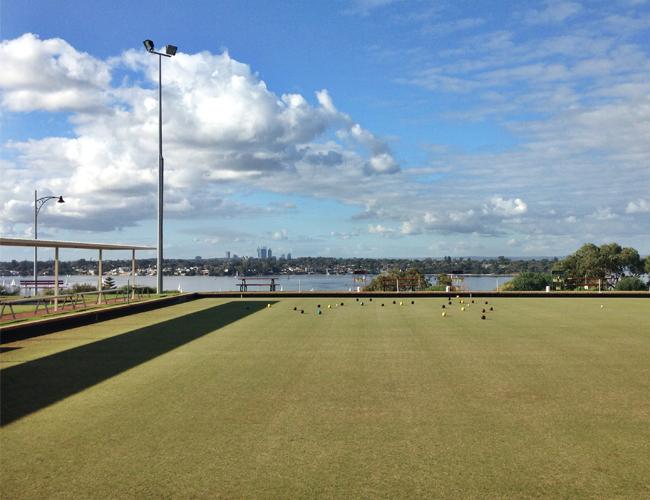 Lawn Bowling Perth Australia Mosman Park Bowling Club