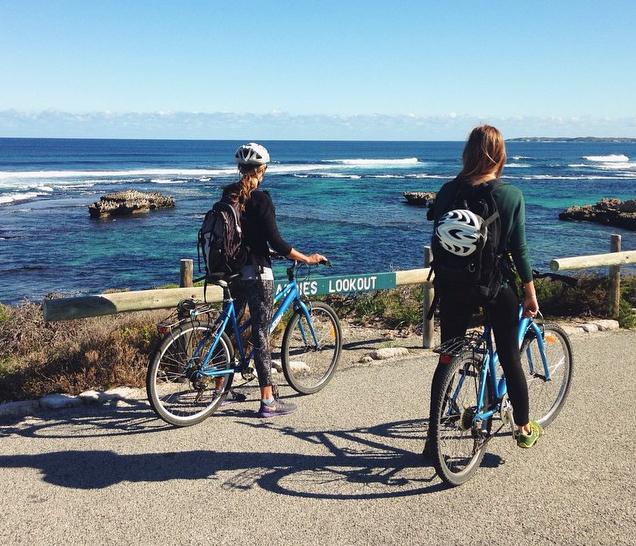 Rottnest Island Bike Touring Beach Adventure Perth Western Australia