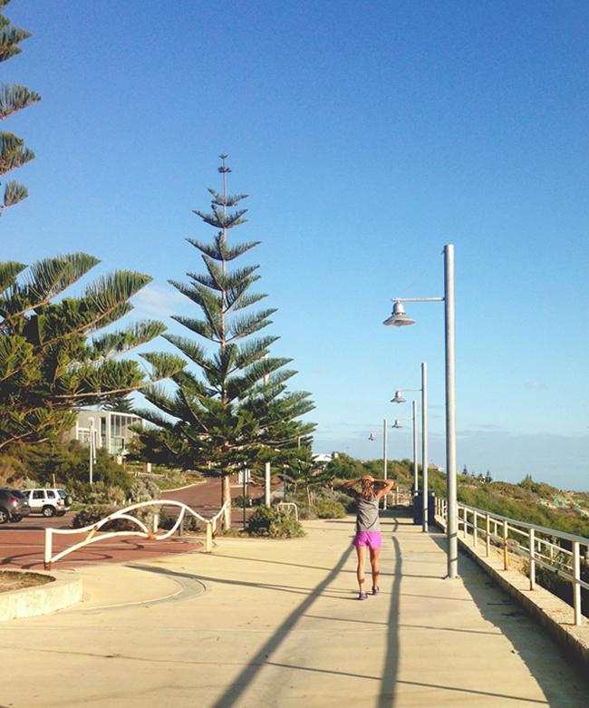 Where to run in perth western australia | one month to marathon