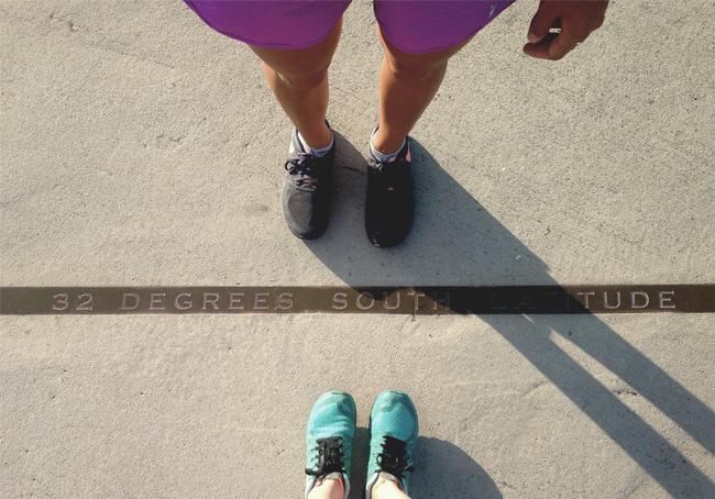 32 degrees south latitude marathon training in perth western australia