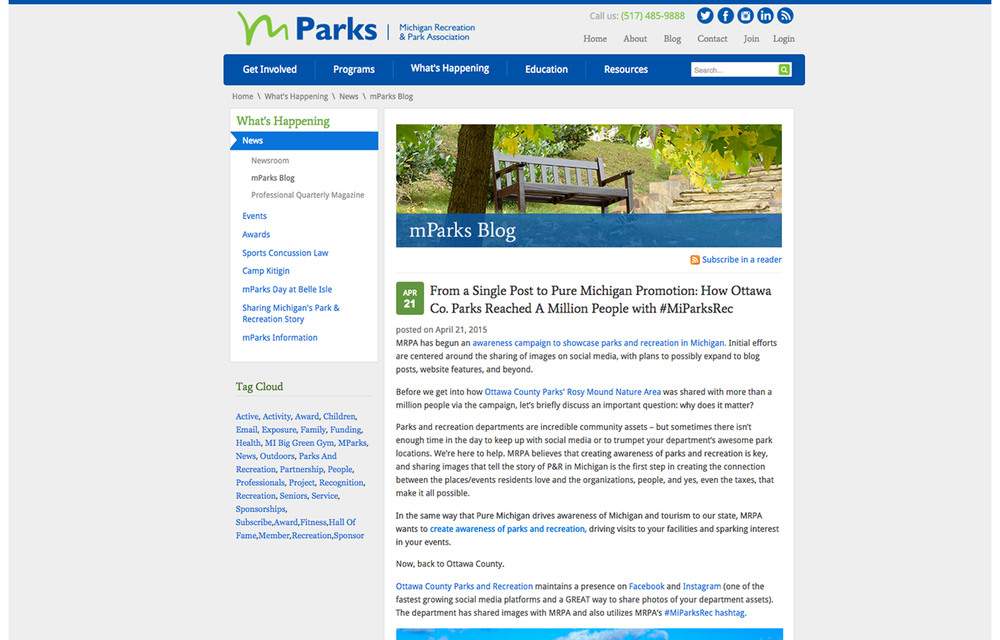 Park & Recreation Association