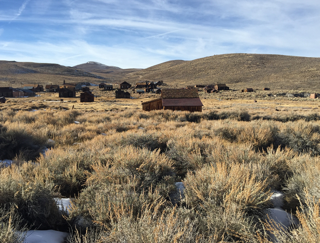 Bodie State Park California Mining Town