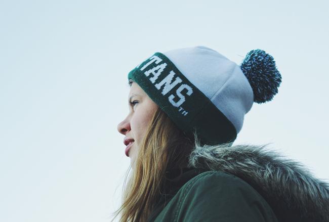 Michigan State Winter Hat