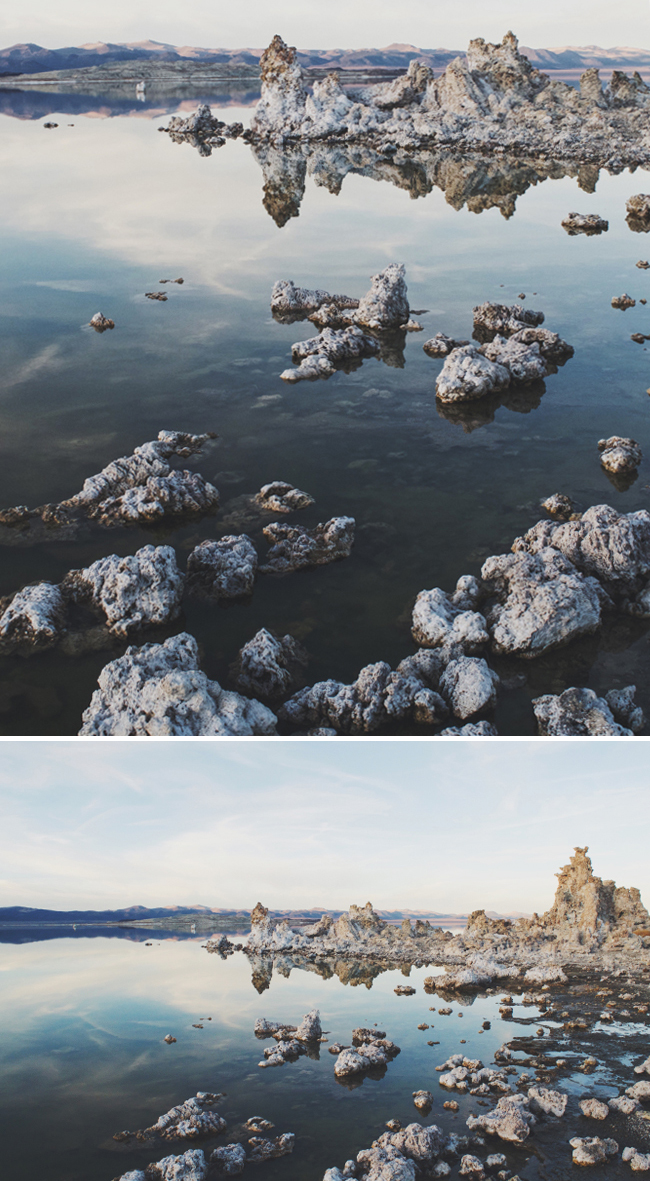 Evening at Mono Lake, Northern California
