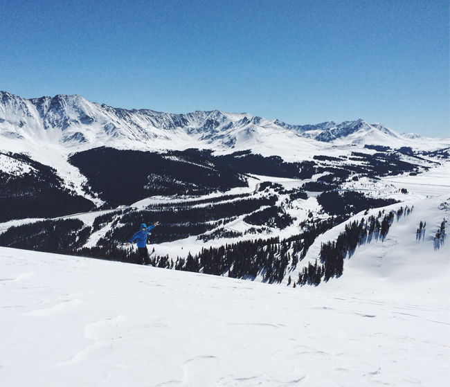 Snowboarding, Copper Mountain, Colorado