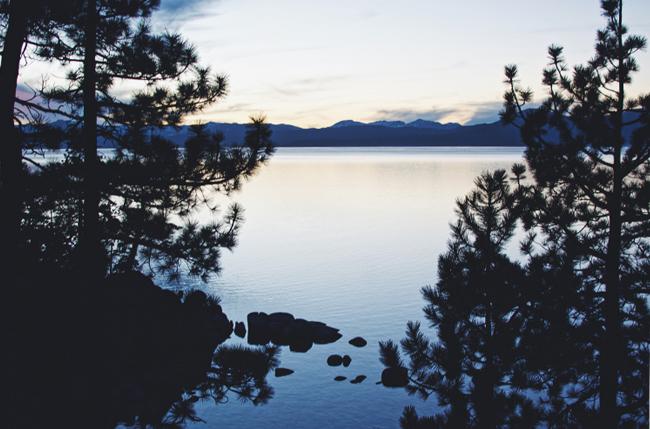 Lake Tahoe at Dusk