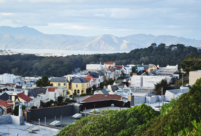 Outer Sunset Neighborhood, San Francisco