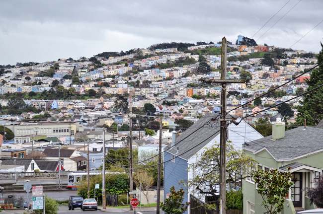 Glen Park Neighborhood View, San Francisco