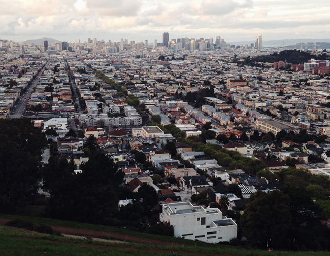 Bernal Heights Park, SF