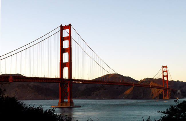 Golden Gate Bridge Golden Hour San Francisco