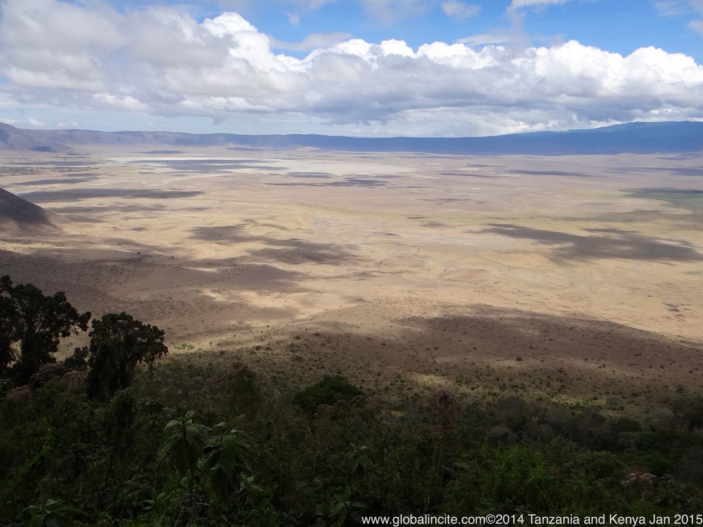 The magnificent Ngorongoro Crater, some call it the 8th wonder of the world. You have to experience it with your own eyes in order to appreciate it's beauty.
