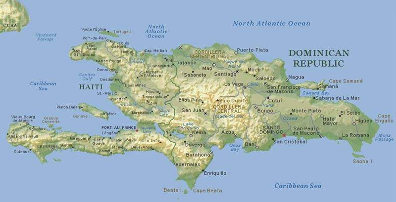 The Island of Hispaniola