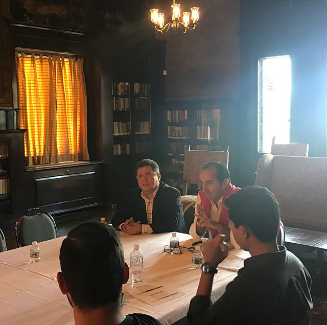 Meeting with Carlos Vazquez, Minister of Agricultural Affairs (Embassy of Mexico) at the beautiful Mexican Cultural Institute. #globalincite #tecdemonterrey #agriculture #internationaleducation #studytrip #studyabroad #sustainability #ageducation #agtour #travel #studenttravel #mexico #embassyofmexico