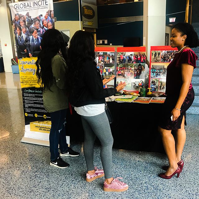 It was a pleasure to meet with the Delaware State University students and faculty on yesterday during the Study Abroad Fair! Global Incite has been working with DSU for 5 years to provide international education and service learning opportunities for students and faculty and we're excited about our upcoming DSU-GI experiences! #studyabroad #delawarestateuniversity #DSU #dsu18 #dsu19 #dsu20 #dsu21 #internationaleducation #servicelearning #HBCU #hbcutravel #globalincite