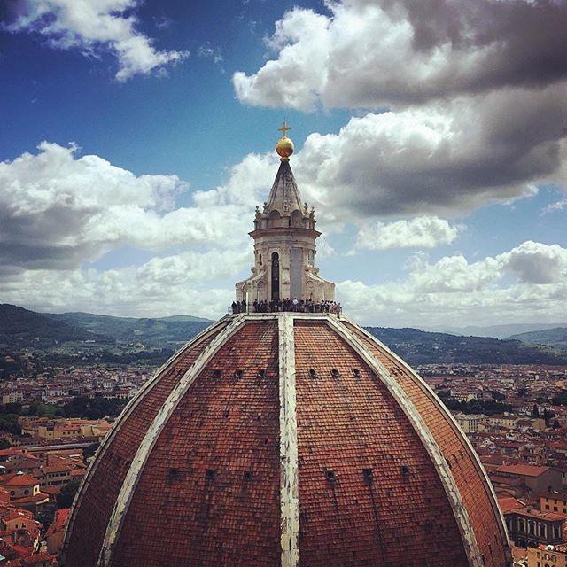 Dome-o of the Duomo. #Florence