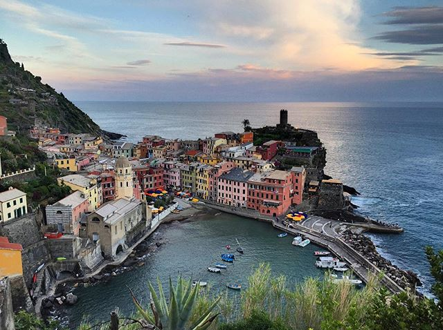 Final views of Vernazza. Time to adventure on.