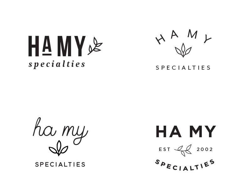 Ha My Specialties- S. Madeo graphic design