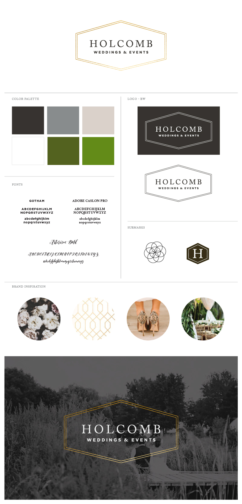 Holcomb Style Guide - Samantha Madeo Graphic Design