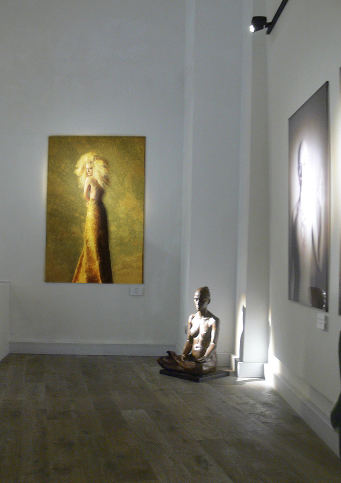"""Dandelion""  on display in the Sicilian Museum of Contemporary Art"