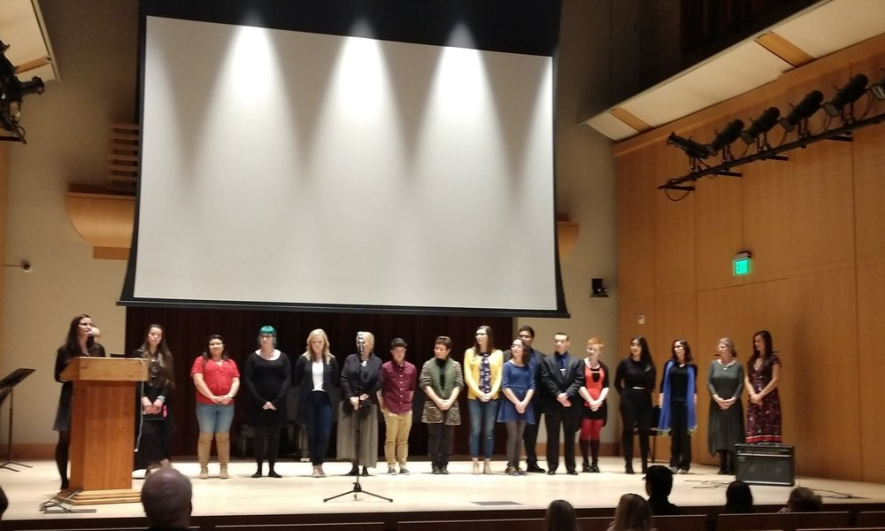 October Reflections - Participants shared reflections through video, poetic recitation, and musical performance.