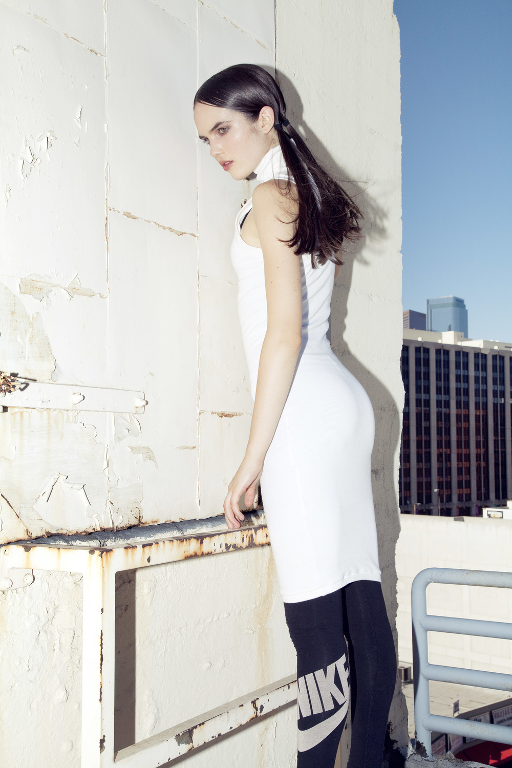 BRAZEN for Ladygunn Mag by Di Henri & styled by Keyla Marquez  (MOCK NECK RIB DRESS)